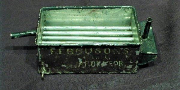 Strange green box